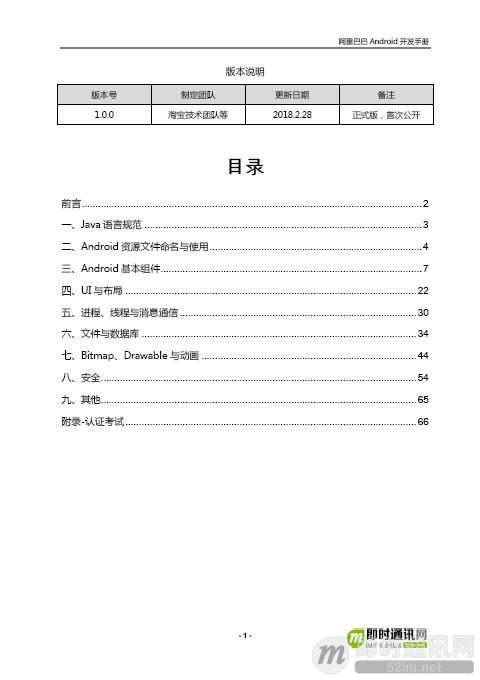 重磅发布:《阿里巴巴Android开发手册(规约)》[附件下载]_b.png